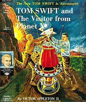Tom Swift and The Visitor from Planet X - dust...
