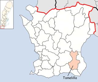 Tomelilla Municipality Municipality in Skåne County, Sweden