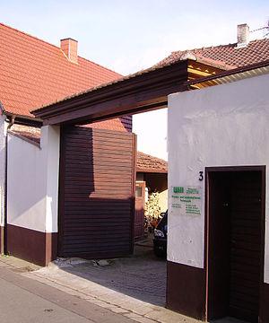 Eisenberg, Rhineland-Palatinate - Image: Tor in Eisenberg