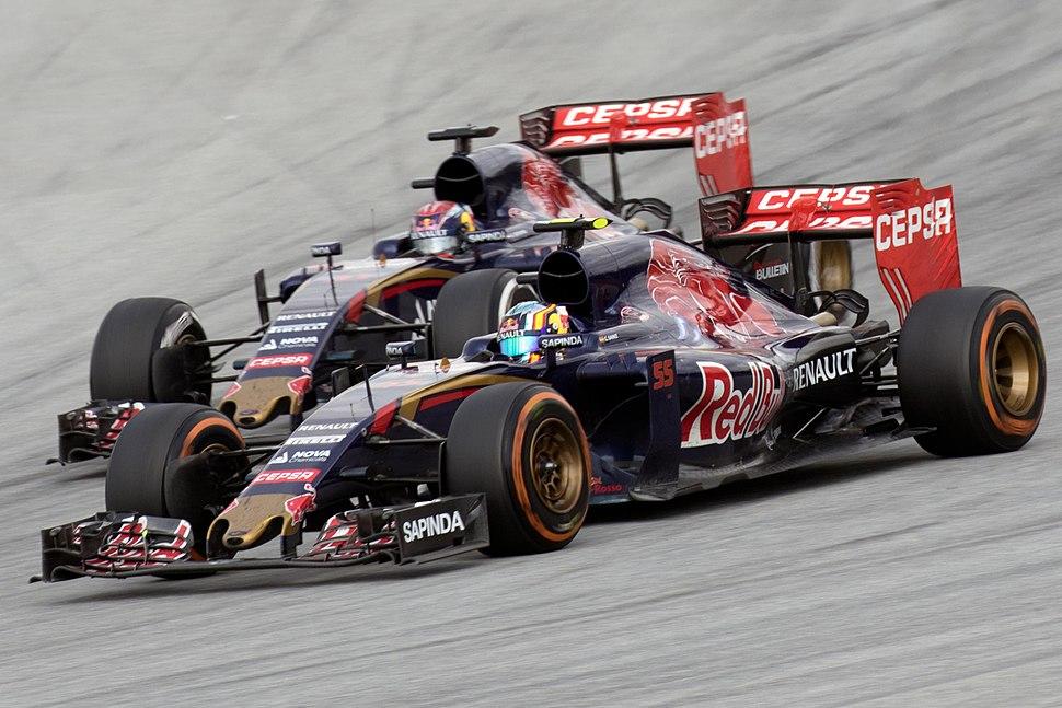 Toro Rosso duo 2015 Malaysia Race