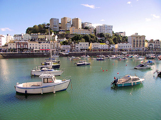 Torquay harbour october 2012