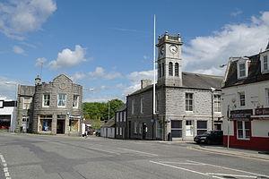 Dalbeattie - Image: Town Hall, Dalbeattie