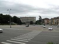 Town hall of Partizansk.JPG