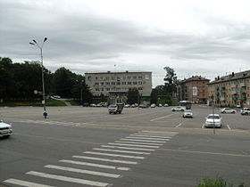 Town hall of Partizansk.JPG