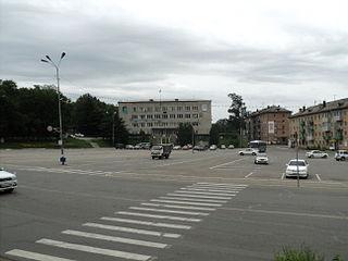 Partizansk Town in Primorsky Krai, Russia