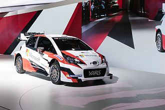 Toyota Gazoo Racing WRT - Toyota Yaris WRC premiere at the 2016 Paris Motor Show