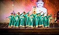 Traditional Dance performance in the memory of spiritual master.jpg