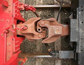 Janney coupler semi-automatic railroad coupler