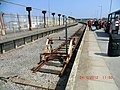 Train station platform in Heysham, Lancashire 1.jpg