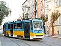 Tramway in Sofia in Alabin Street 2012 PD 018.jpg