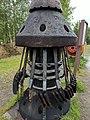 Trans-Alaska Pipeline System Visitors Center Scraper Pig.jpg