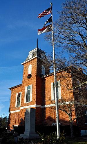 Transylvania County Courthouse - Transylvania County Courthouse, December 2013