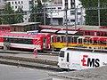 Treni nella stazione di Sankt Moritz.jpg