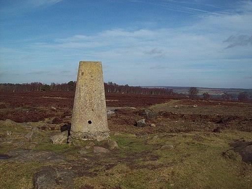 Triangulation Pillar on Stanton Moor - geograph.org.uk - 2282670