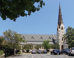 National Register of Historic Places listings in Davenport, Iowa - Trinity Episcopal Cathedral, in west Davenport