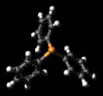 Triphenylphosphine - Image: Triphenylphosphine ray 3D balls