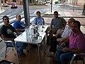 Trobada de viquipedistes a Vila-real, agost de 2014.jpg