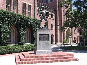 Tommy Trojan - The Trojan Shrine in June 2006.