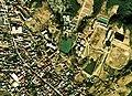 Tsukimigaike water reservoir Aerial photograph.1974.jpg