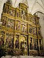 Tudela de Duero - Iglesia de Nuestra Señora de la Asuncion, retablo mayor 01.jpg