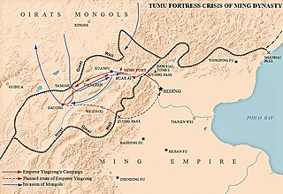Tumu Crisis conflict between the Oirats and the Chinese Ming dynasty