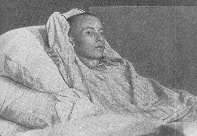 Габдулла Тукай в больнице, 1913 год