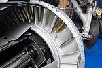 Turbine inlet guide vanes of Atar turbojet.jpg