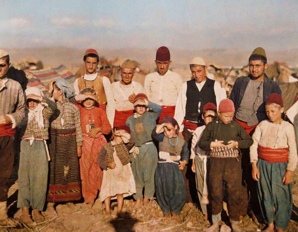 Turkish refugees from Edirne