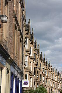 Marchmont area of Edinburgh, Scotland