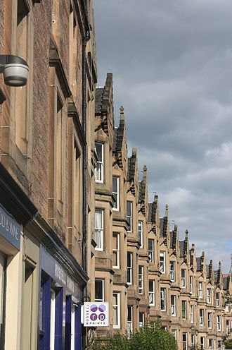 Marchmont - Typical Victorian tenements in Marchmont