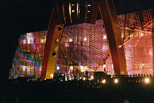 PopMart Tour - The stage, during a Belfast performance