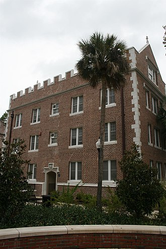 Andrew Sledd - Buckman Hall, one of the first two buildings on the new campus of the University of Florida, where Andrew Sledd and his family lived from 1906 to 1909