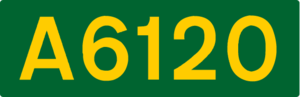 A660 road - Image: UK road A6120