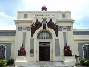 University of the Philippines Visayas - The Library of the UP Visayas Iloilo City campus is the former city hall of Iloilo City.