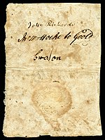 North Carolina colonial currency, 3 pounds sterling, 1729 (reverse)