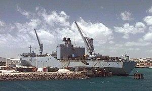 SS Capella (T-AKR-293) - Image: USNS Capella (T AKR 293)