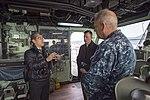 USS Bonhomme Richard (LHD 6) Welcomes Asahi Shimbun Reporter 170118-N-TH560-106.jpg