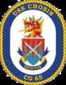 USS Chosin CG-65 Crest.png