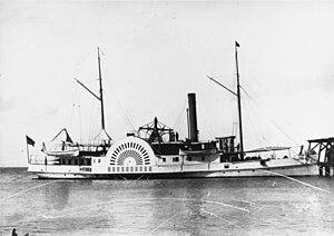 Roanoke Island order of battle - USS Delaware