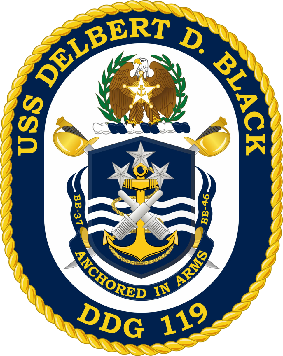 USS Delbert D. Black (DDG-119) Crest