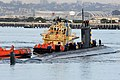 USS Hampton returns to Naval Base Point Loma. (11452864503).jpg