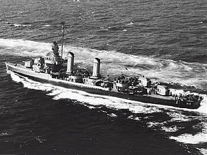 USS Kendrick (DD-612) underway at sea on 27 June 1945.jpg