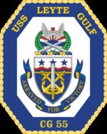 USS Leyte Gulf CG-55 Crest