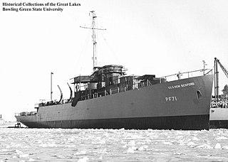 USS <i>New Bedford</i> (PF-71) Tacoma-class patrol frigate