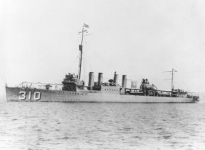 Honda Point disaster - Image: USS S. P. Lee (DD 310)