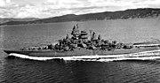 USS Tennessee (BB43) 1943