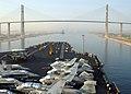 US Navy 020713-N-7871M-001 USS Washington transit of Suez Canal.jpg