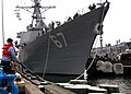US Navy 050520-N-4010S-001 More than 300 Sailors aboard the guided missile destroyer USS Cole (DDG 67), home ported on board Naval Station Norfolk, deploy in support of the 33rd annual maritime exercise Baltic Operations (BALTO.jpg
