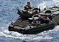 US Navy 070521-N-5067K-255 Echo company Battalion Landing Team (BLT) 2-1 approaches Austin-class amphibious transport dock USS Juneau (LPD 10).jpg