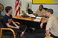 US Navy 110519-N-MN593-037 Navy recruiters talk to a recruit.jpg